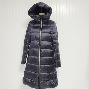 Save the duck women's hooded padded long coat